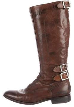 Paul Smith Knee-High Leather Boots