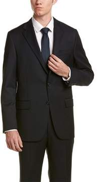 Hickey Freeman 2pc Milburn Ii Wool Suit.