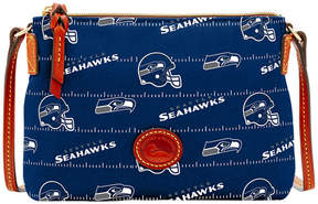 Dooney & Bourke Seattle Seahawks Nylon Crossbody Pouchette - BLUE - STYLE