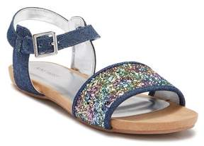 Nine West Tasyah Denim Glitter Sandal (Little Kid & Big Kid)