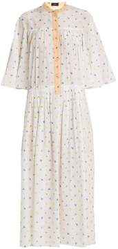 Joseph Morrisson floral-print silk dress