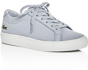 Lacoste Boys' Piqué Knit Lace Up Sneakers - Little Kid, Big Kid