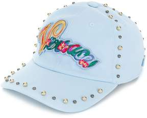 Versace embroidered logo baseball cap