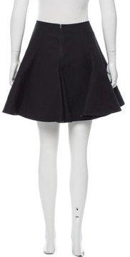 Alaia Fit-And-Flare Mini Skirt