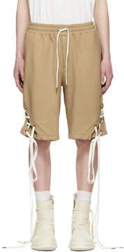 D.gnak By Kang.d Beige String Shorts