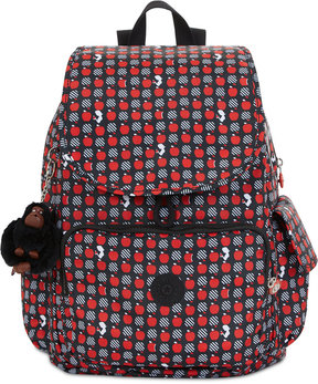 Kipling Disney's Snow White Ravier Printed Medium Backpack - HYPNOTIC APPLES - STYLE