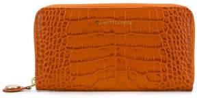 L'Autre Chose crocodile embossed wallet