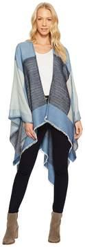 Echo Geo Block Ruana Women's Sweater