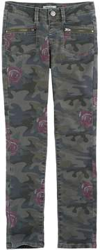 Mudd Girls 7-16 & Plus Size Camo Ankle Skinny Jeans