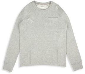 Hudson Little Boy's & Boy's Raglan Cotton Pullover Sweatshirt