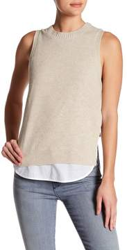 Brochu Walker Vail Layered Twofer Tank