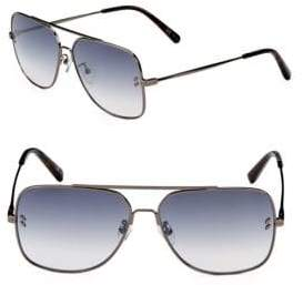 Stella McCartney 59MM Aviator Sunglasses