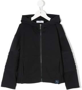 Versace zipped hoodie