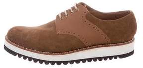 Grenson Suede Derby Shoes