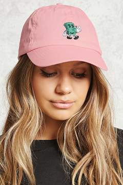 Forever 21 Jeremyville Dollar Bill Dad Cap