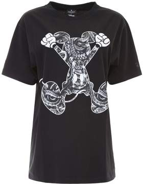 Marcelo Burlon County of Milan Mickey Mouse Jumping T-shirt