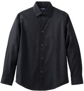 Chaps Boys 4-20 Herringbone Button-Down Shirt