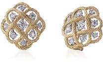 Buccellati Etoilee Diamond Button Earrings
