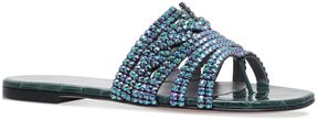 Gina Loren Embellished Sandals