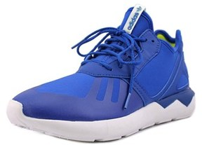 adidas Tubular Runner K Round Toe Canvas Running Shoe.