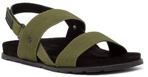 Hunter Double Strap Webbing Sandal