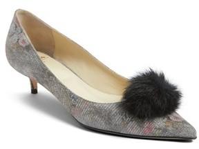 Butter Shoes Women's Bianca Faux Fur Pom Pump