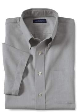 Lands' End Lands'end Men's Extra Big Short Sleeve Buttondown Oxford Sport Shirt