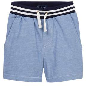 Andy & Evan Chambray Jogger Shorts (Baby Boys)
