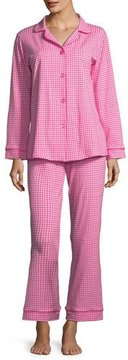 BedHead Pearls Long-Sleeve Classic Pajama Set