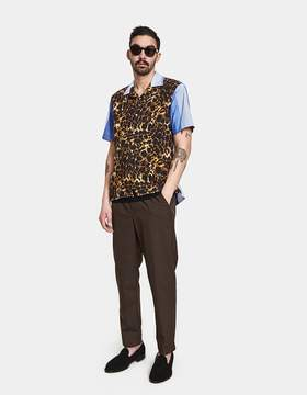 Gitman Brothers Big Cat Rayon Cotton Camp Shirt