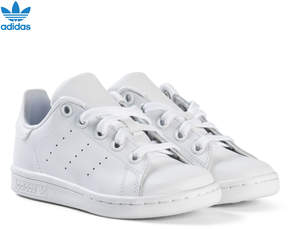 adidas White Kids Stan Smith Trainers
