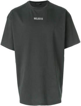 Balenciaga Believe Oversized T-shirt