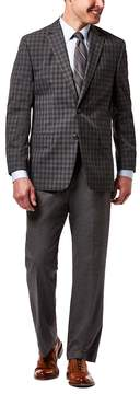 Haggar Men's Classic-Fit Checked Sport Coat