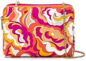 Emilio Pucci abstract print shoulder bag