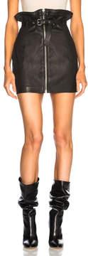 IRO Hexim Leather Skirt
