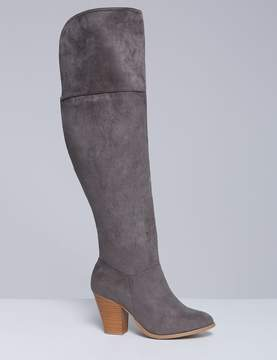 Lane Bryant Over-the-Knee Boot with Block Heel