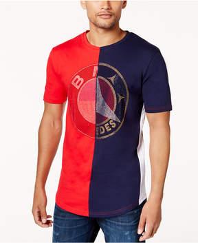 Reason Men's Split Graphic-Print T-Shirt