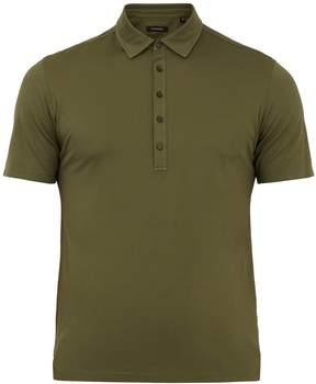 Ermenegildo Zegna Five-button cotton polo shirt