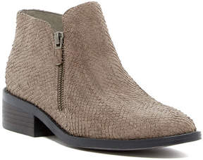 Eileen Fisher Dole Snake Embossed Bootie