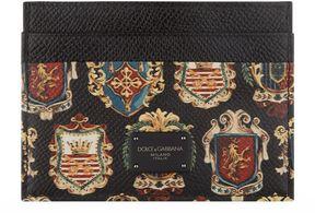 Dolce & Gabbana Sicilian Crest Card Holder
