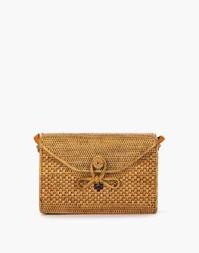 Madewell Bembien Sofia Rattan Shoulder Bag
