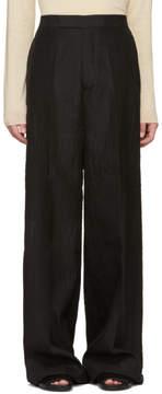 Rick Owens Black Viscontis Trousers