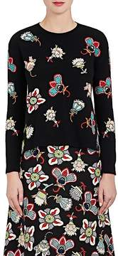 Valentino Women's Embroidered Wool Sweater