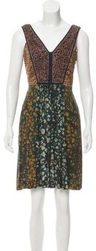 Cacharel Printed Swing Dress