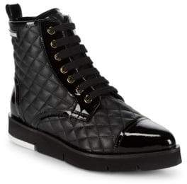 Love Moschino St. Tod Quilted Booties