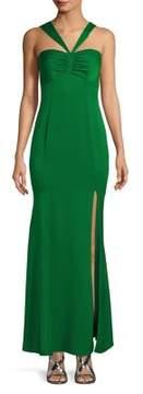 Decode 1.8 V-Strap Mermaid Dress