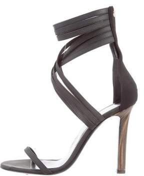 Tamara Mellon Multistrap Leather Sandals