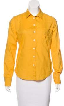 Band Of Outsiders Collared Button-Up Top