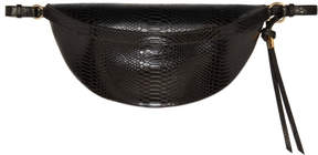 Stella McCartney Black Snake Alter Bum Bag