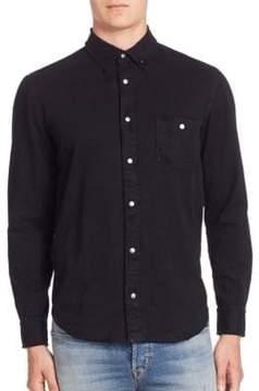 Hudson Solid Long Sleeve Shirt